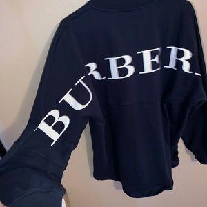 Burberry back logo sweatshirt